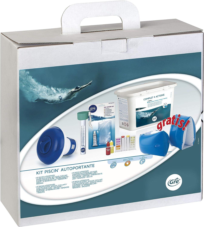 Gre 76054 - Kit para el Tratamiento del Agua de Piscinas ...