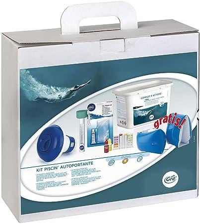 Gre 76053 - Kit para el Tratamiento del Agua de Piscinas Elevadas