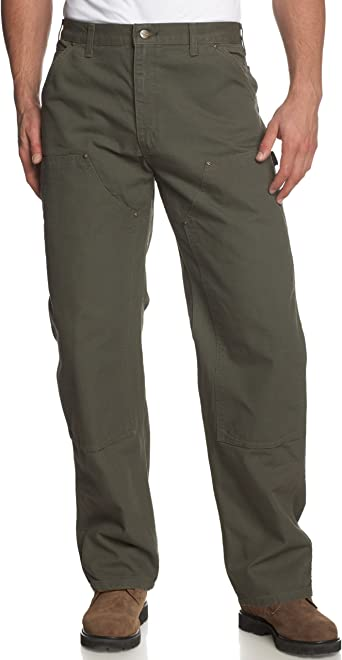 Carhartt Double Front Mens Pants Workwear Pant Dark Brown All Sizes