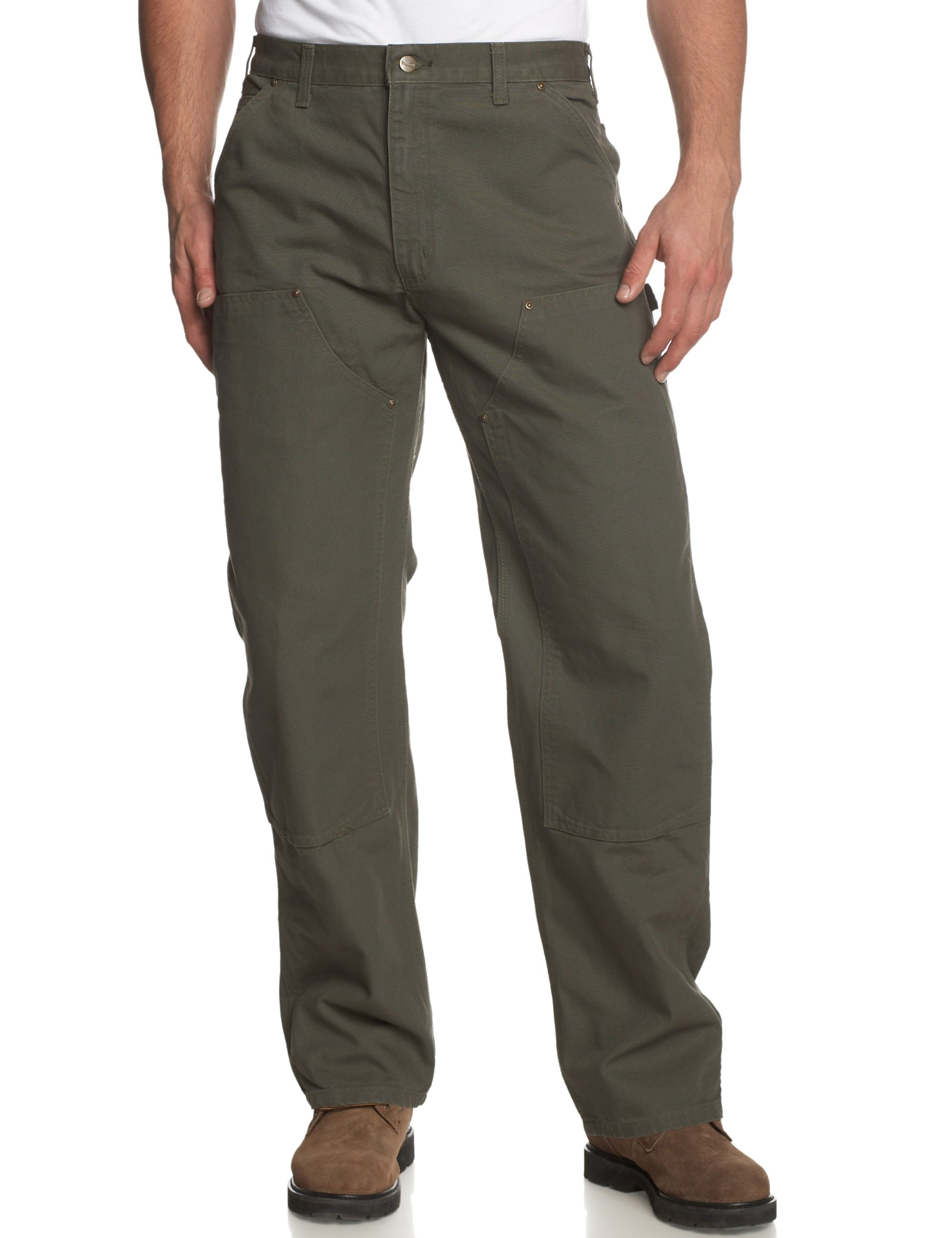 Carhartt Men's Washed Duck Double Front Dungaree