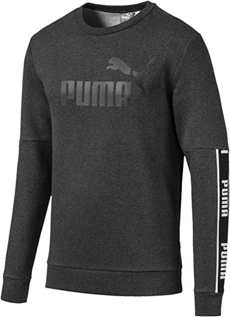 PUMA Men's Amplified Crew Fl Pullover