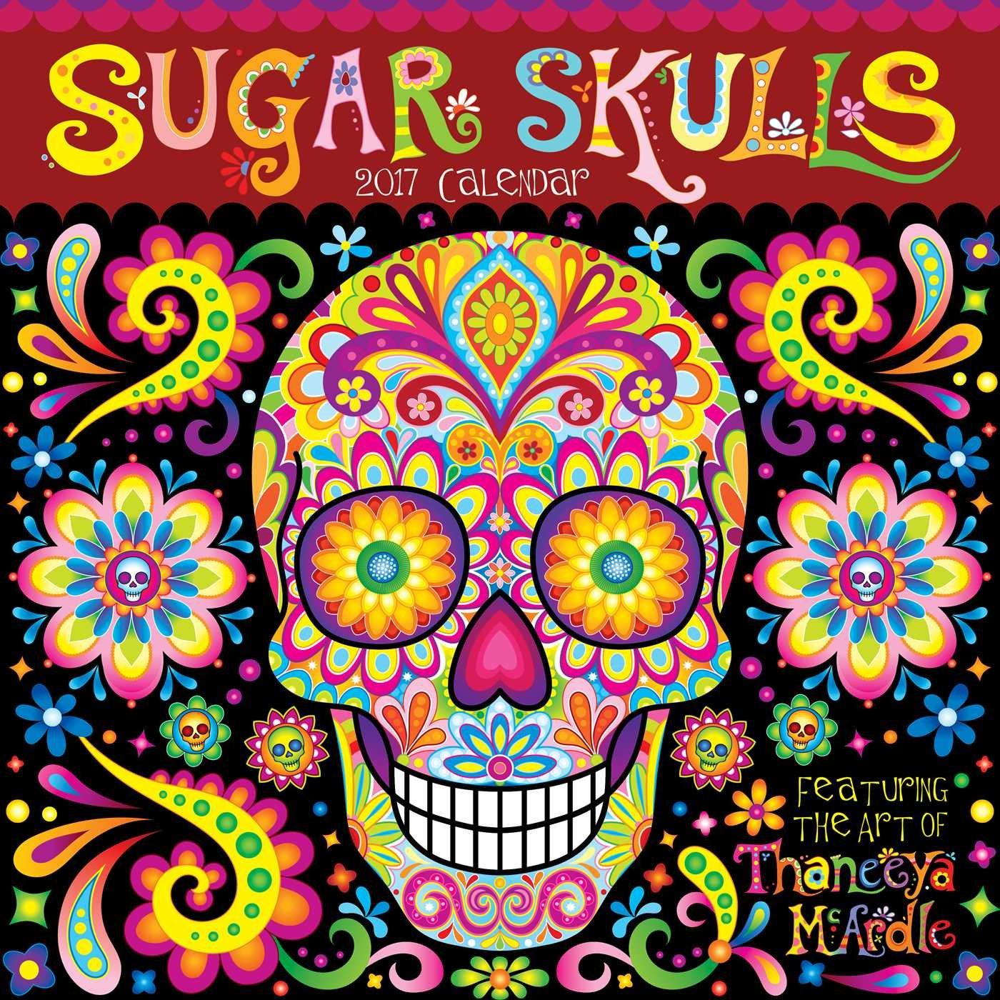 Download Sugar Skulls 2017 Wall Calendar PDF