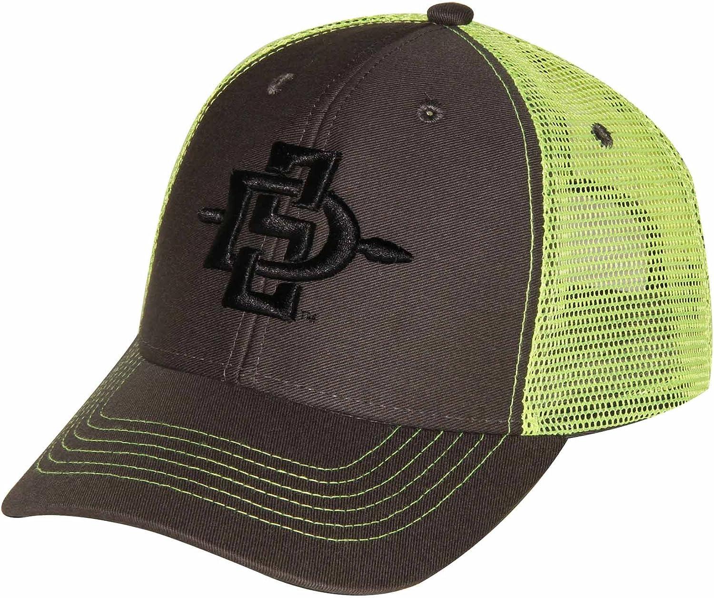 NCAA San Diego State Aztecs Adult Unisex Sideline Mesh Cap   Adjustable