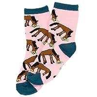 Lazy One Girls' Pasture Bedtime Socks
