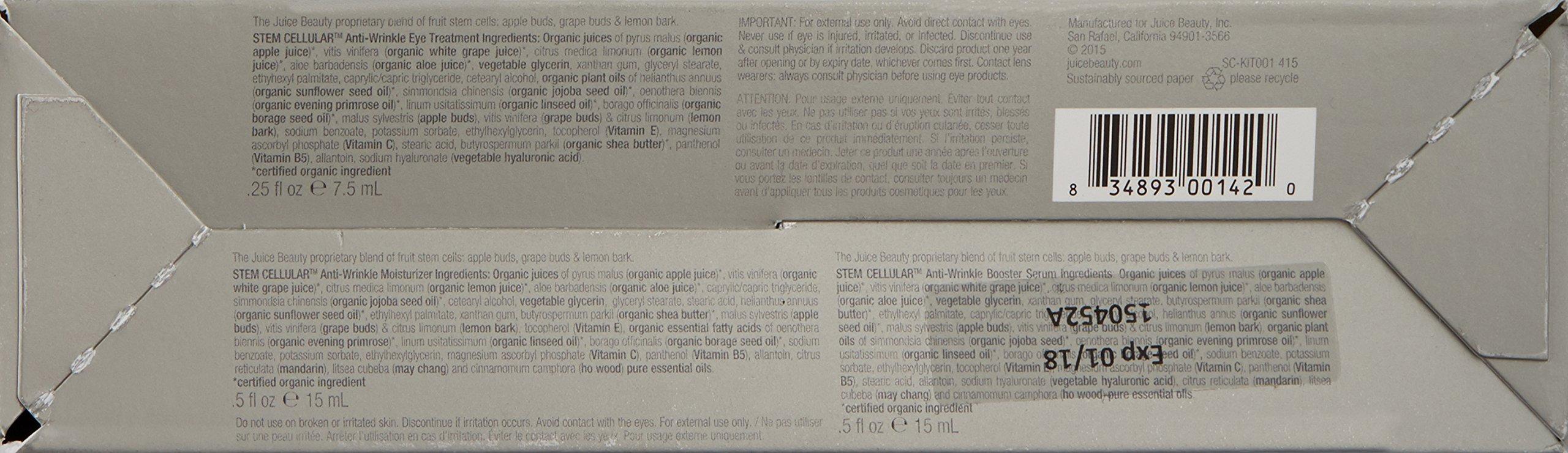 Juice Beauty Stem Cellular Anti-Wrinkle Solutions Kit by Juice Beauty (Image #3)