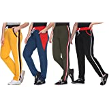 69GAL Shaun Women Track Pant Plain with Side Bone (Multicolor) (S/M/L/XL/3XL/5XL)(Pack of 4)