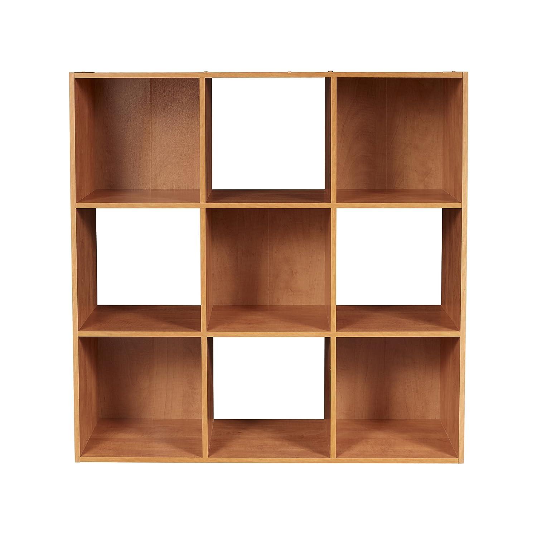 Amazon.com: ClosetMaid 8980 Cubeicals 9 Cube Organizer, Alder: Home U0026  Kitchen