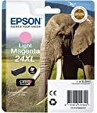 Epson 24XL Series Elephant Ink Cartridge - Light Magenta