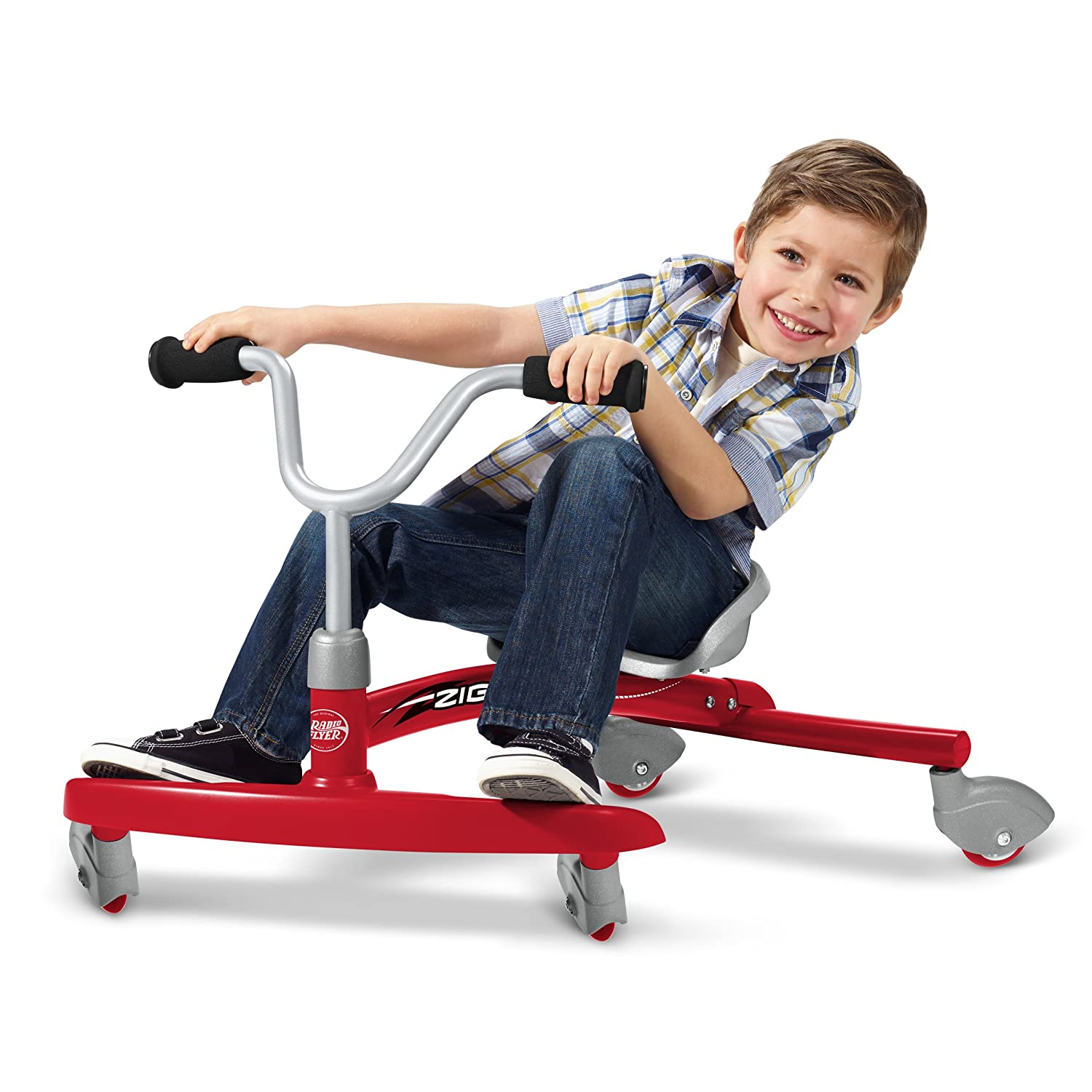 radio flyer ziggle ride on