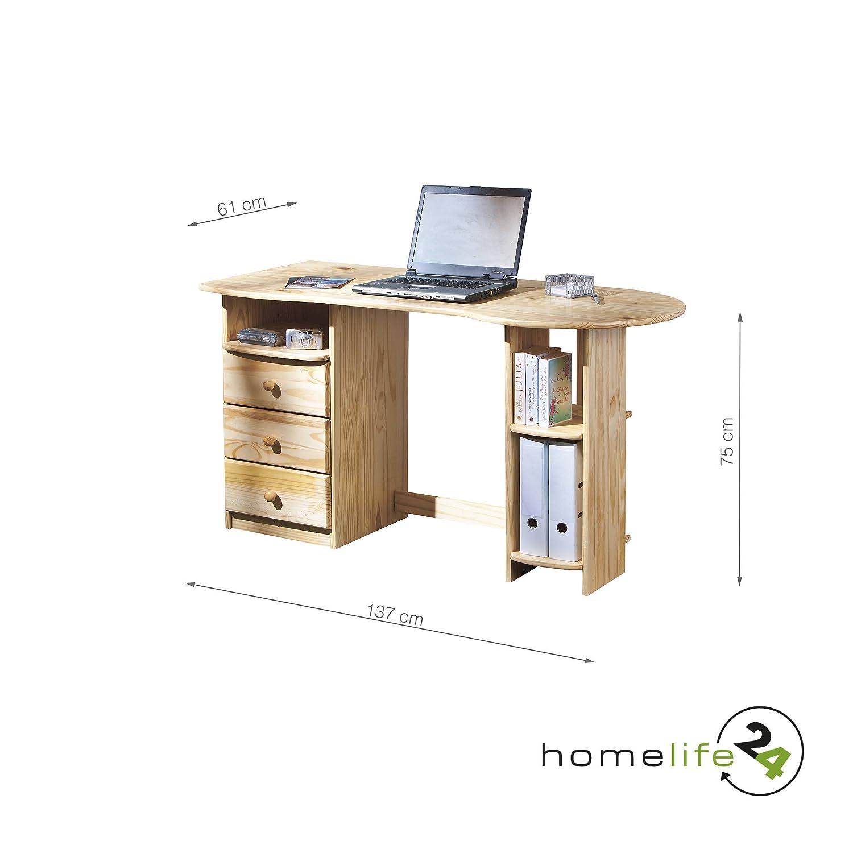 Schöner eleganter Schreibtisch Computertisch Büromöbel PC Tisch ...