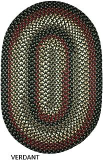 product image for Rhody Rug Jamestown 7' x 9' Braided Rug Verdant