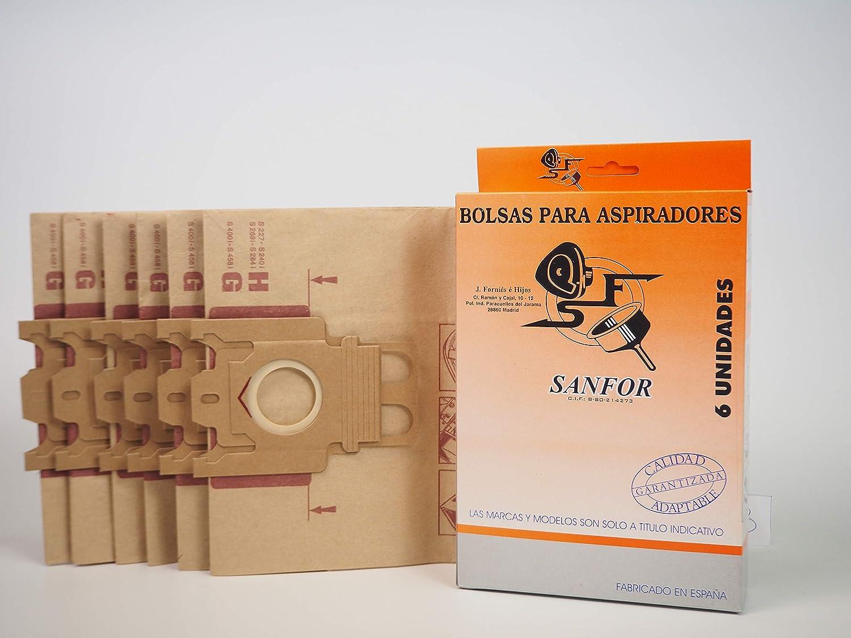 Sanfor 80514 Caja Aspirador Miele R-MI23 (9 Cajas de 6 Bolsas ...
