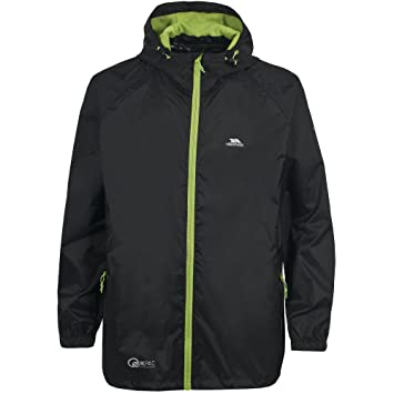 a71f614b811646 Trespass Qikpac Jacket, Cobalt, M, Kompakt Zusammenrollbare Wasserdichte  Regenjacke/Funktionsjacke/Wetterjacke