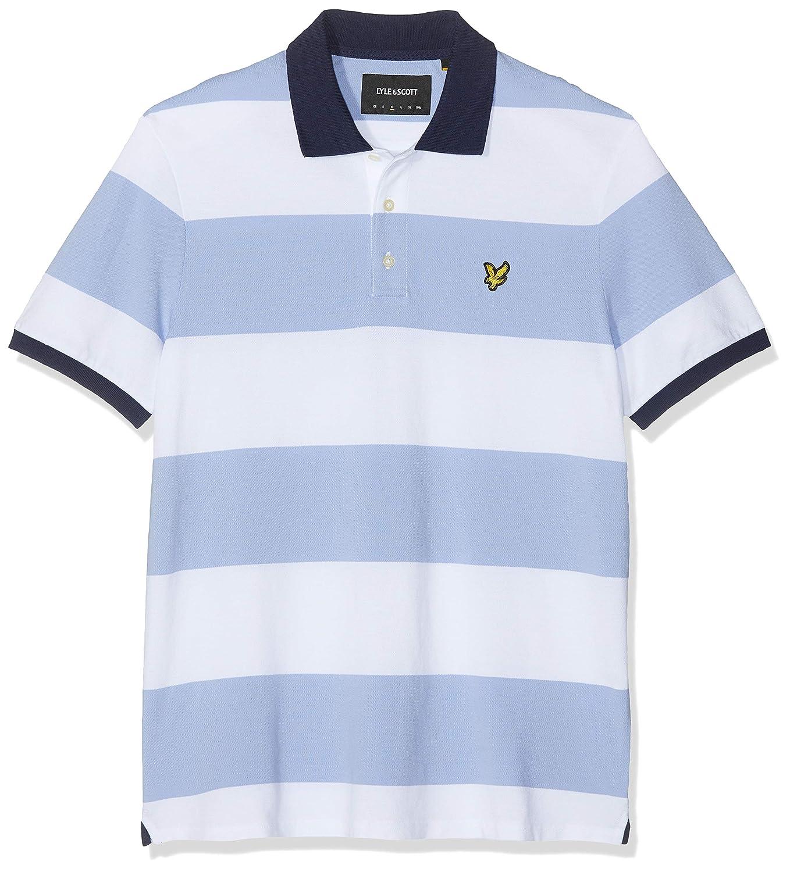 Lyle & Scott Wide Stripe Polo Shirt Hombre: Amazon.es: Ropa y ...