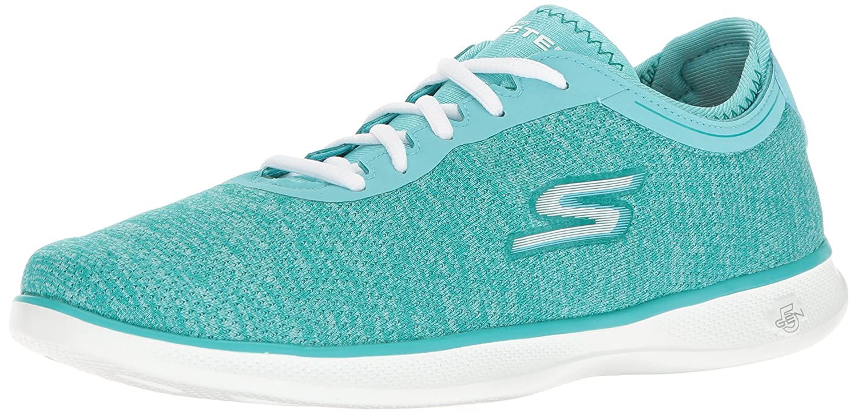 Skechers Damen Go Step Lite-Interstelllar Sneaker  38.5 EU|Gr眉n