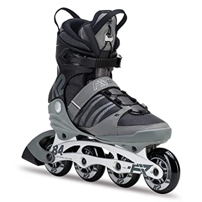 K2 Skate Men's F.I.T. 84 Pro Inline Skate, Gray Black, 9.5 : Sports & Outdoors