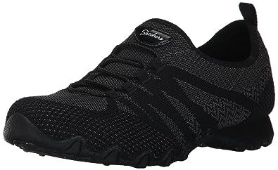 8092a31230b Amazon.com | Skechers Women's Bikers-Knit Happens Sneaker | Shoes