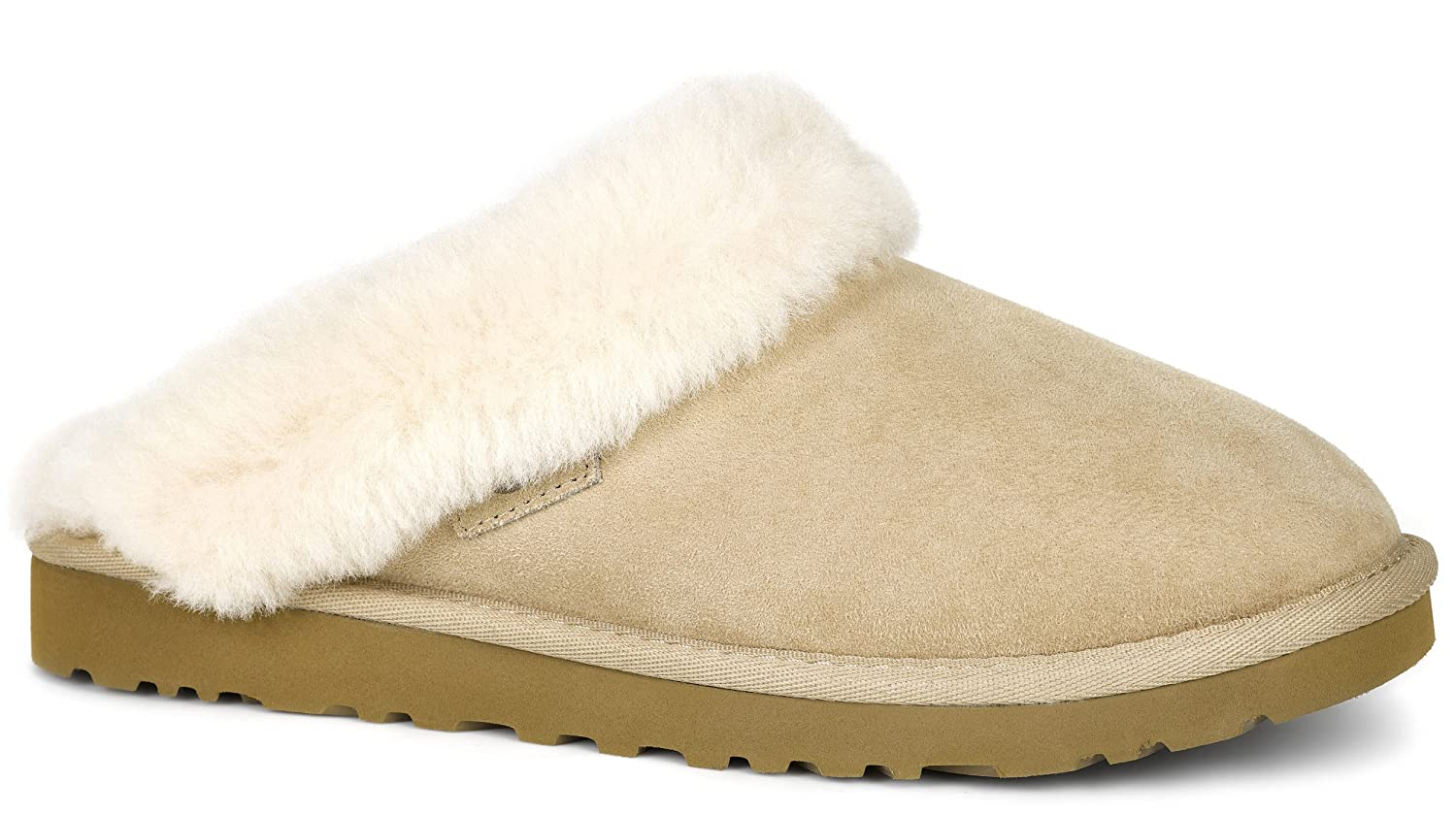 23324b967cc UGG Women's Cluggette Sand Twinface Slipper 5 B (M): Amazon.co.uk ...