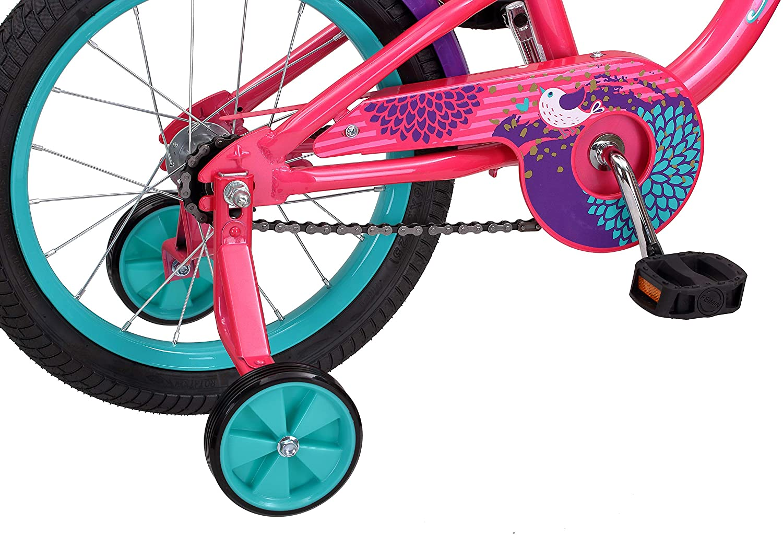 Schwinn Jasmine Girl's Bike with Training Wheels, 16