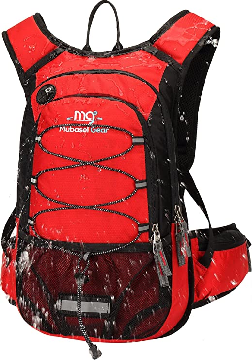 Mubasel Gear Insulated Hydration Backpack with 2L BPA-Free Bladder