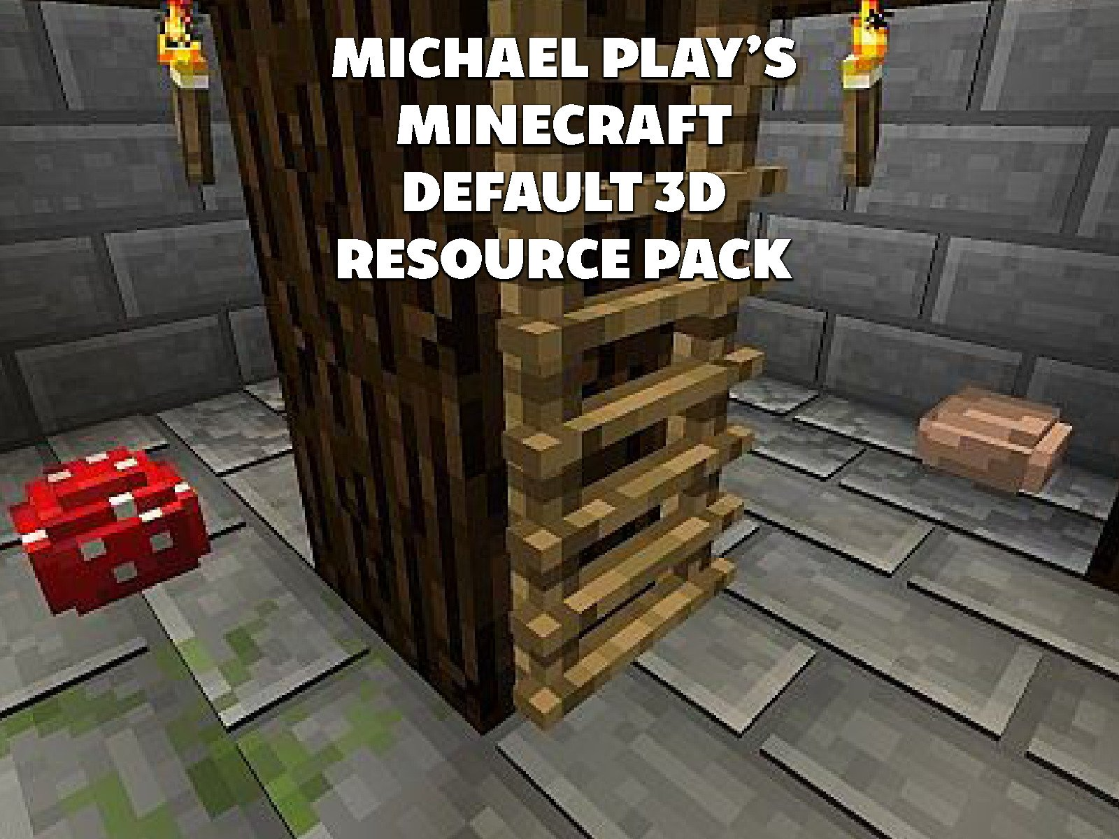 Amazon Com Clip Michael Play S Minecraft Default 3d Resource Pack