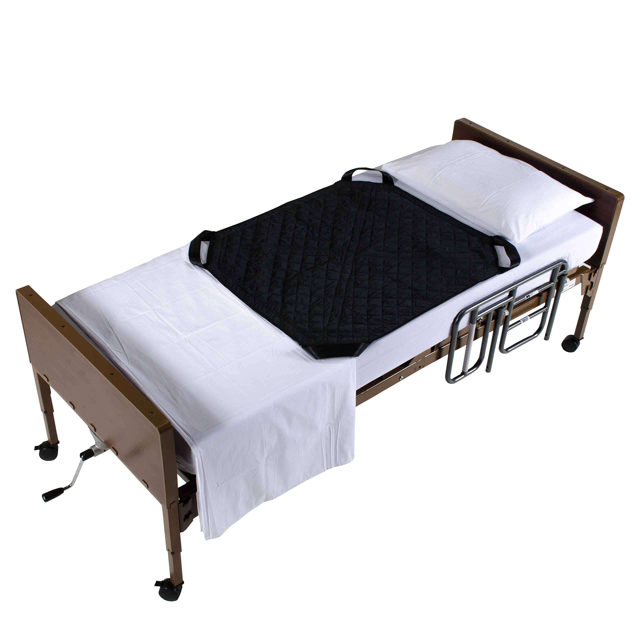 4 Handled Patient Turner & Positioning Aid for Patient Transfers, Turning, and Repositioning in Beds, Perfect For Hospitals and Home Care, to Assist Moving Elderly and Disabled Patients 400lb Capacity