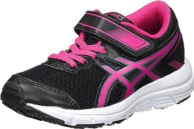 Asics Gel-Zaraca 5 PS, Zapatillas de Gimnasia Unisex Niños, Negro (Black/Pink Peacock/White), 28.5 EU: Amazon.es: Zapatos y complementos