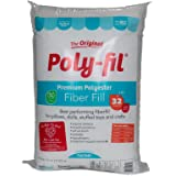 Fairfield Poly Fil Premium Fiber Fill, 32-Ounce