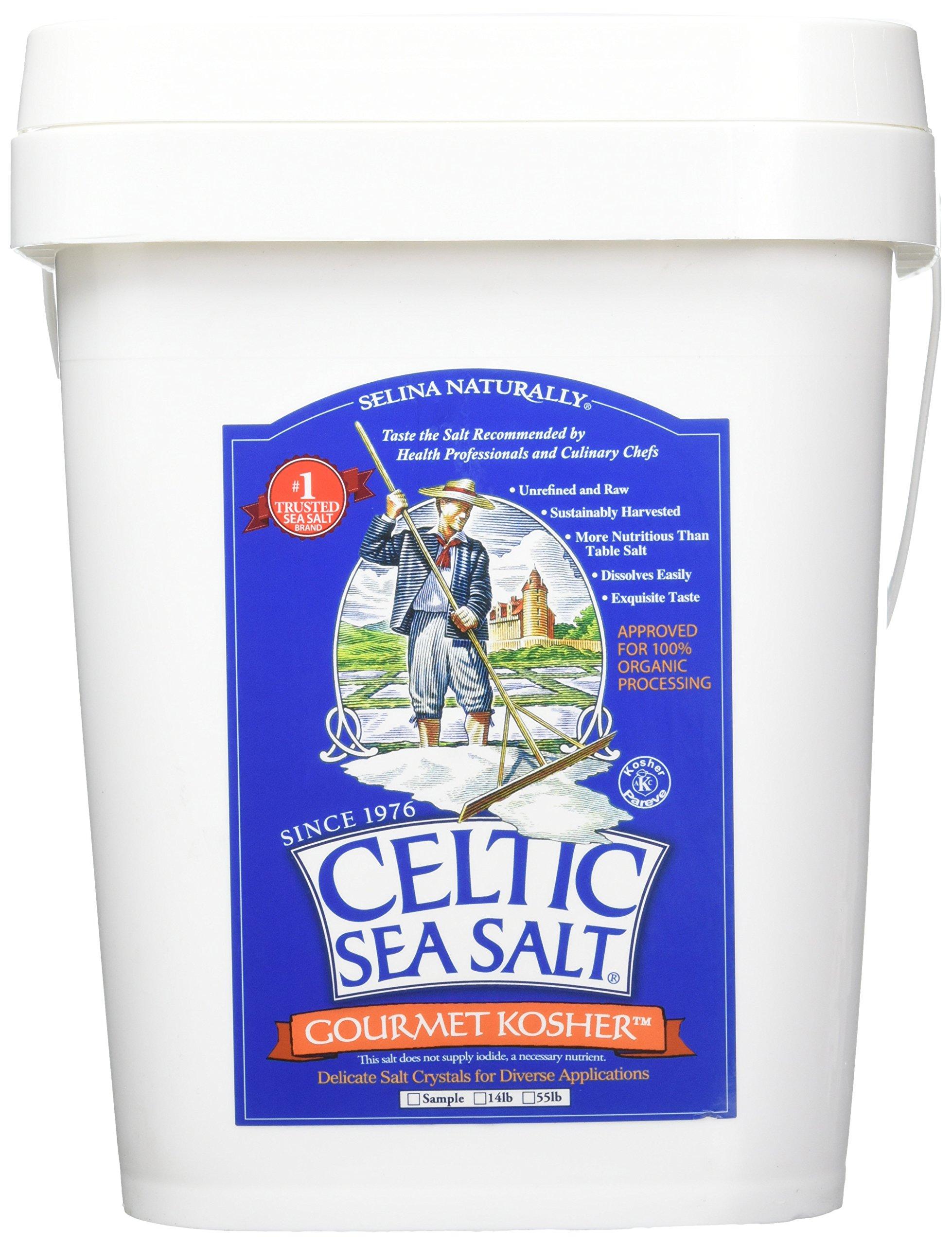Celtic Sea Salt Gourmet Kosher Salt, 14 Pound