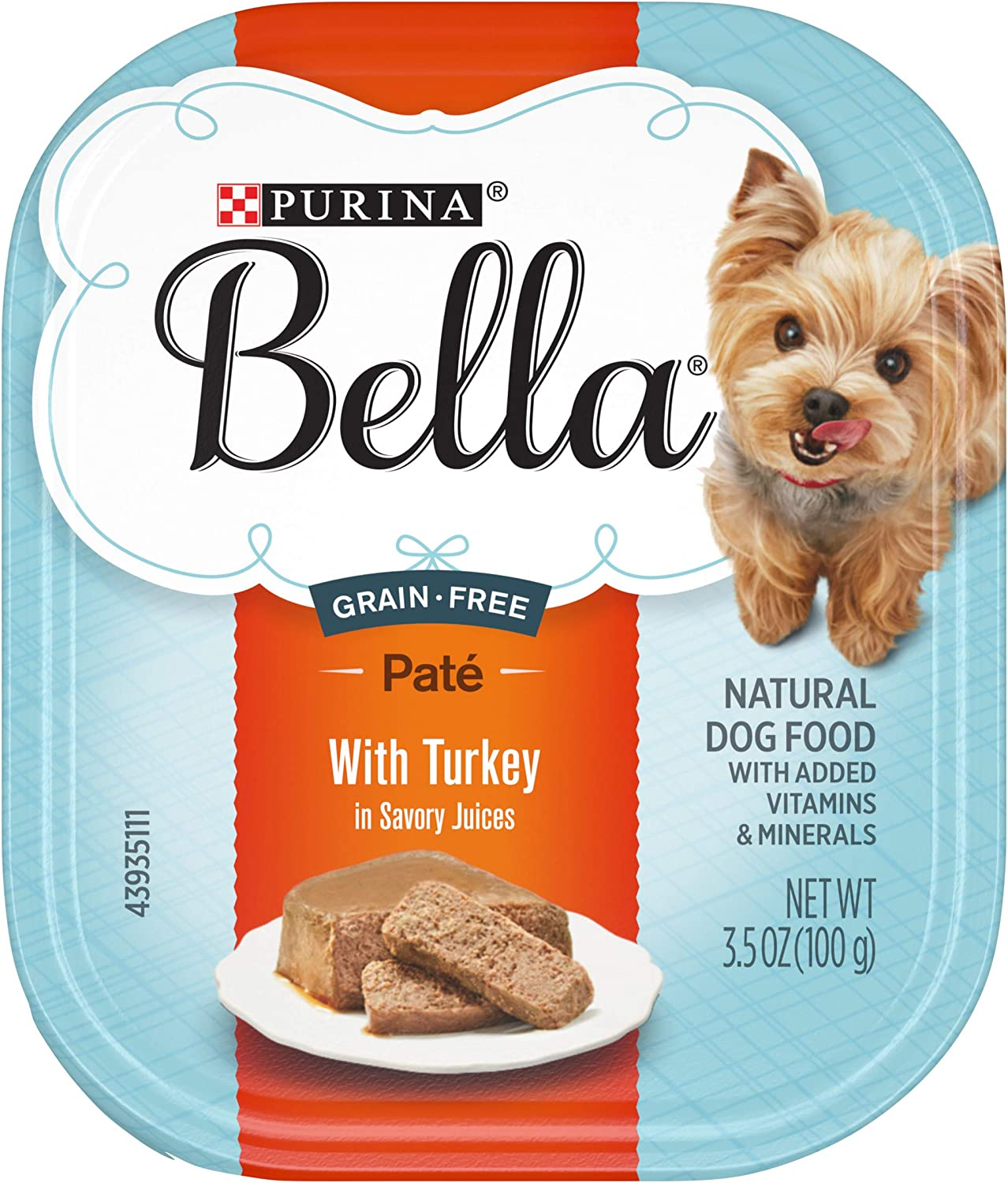 Purina Bella Single Serve Adult Wet Dog Food in Savory Juices - (12) 3.5 oz. Trays