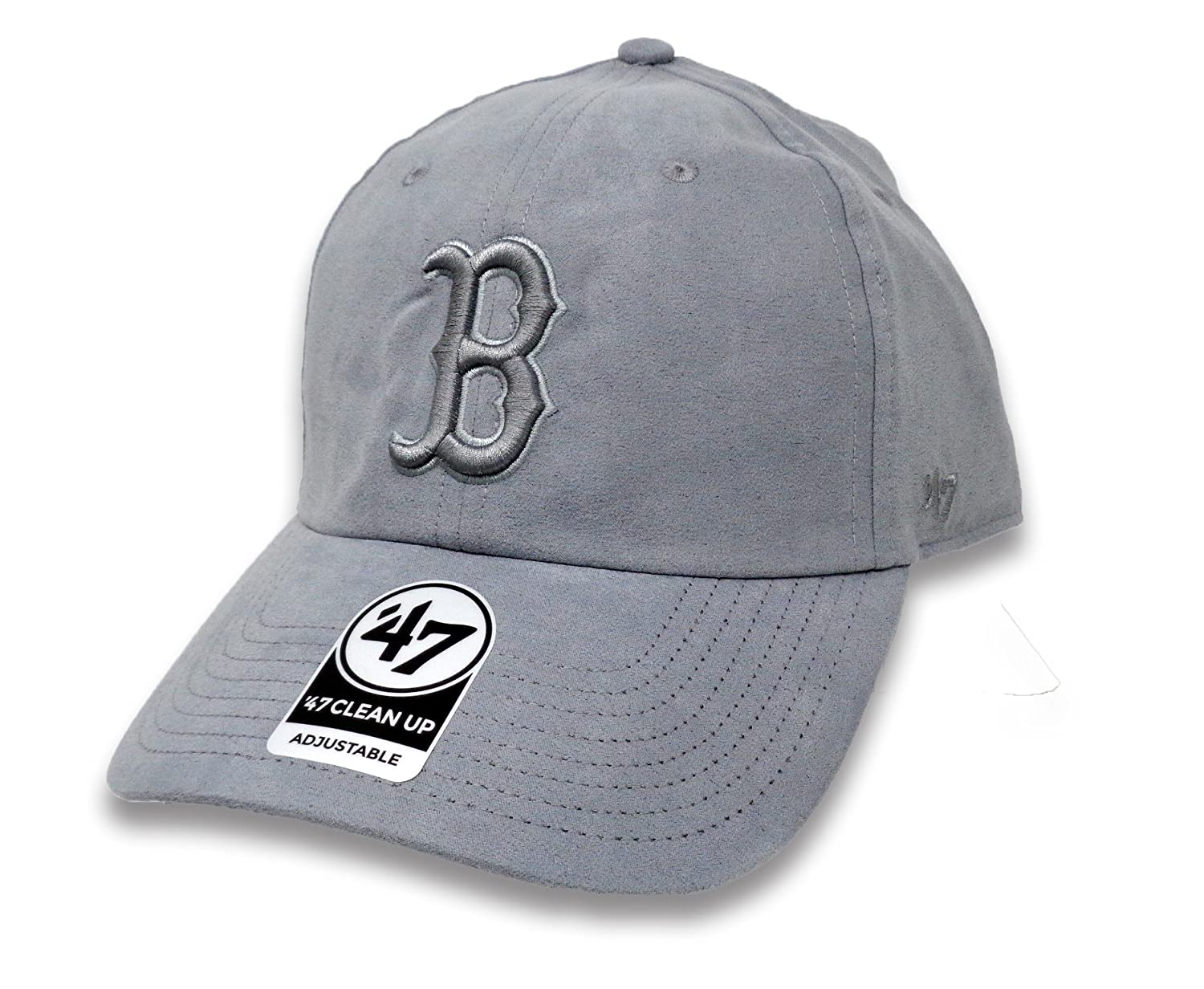 ea0d39bacd51e ... canada 47 brand boston red sox ultrabasic suede tonal clean up slouch  fit hat e5376 7a72b