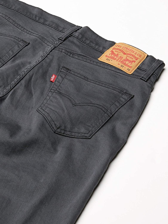 Levi\'s 511 - Jeans Grigio Nero 3d - Stretch