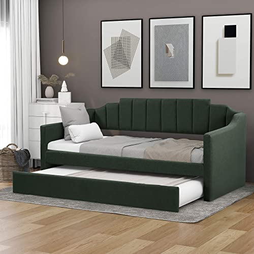 Flieks Upholstered Twin Daybed