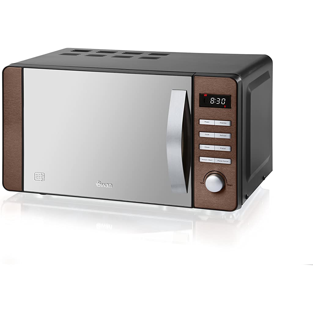 Swan Products SM22090COPN Digital Microwave, 20 Litre, Copper