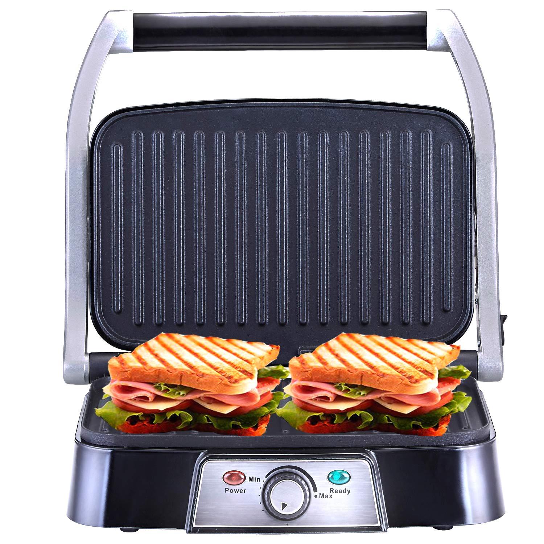 NETTA - Parrilla multifunción, plancha, prensa de paninis ...