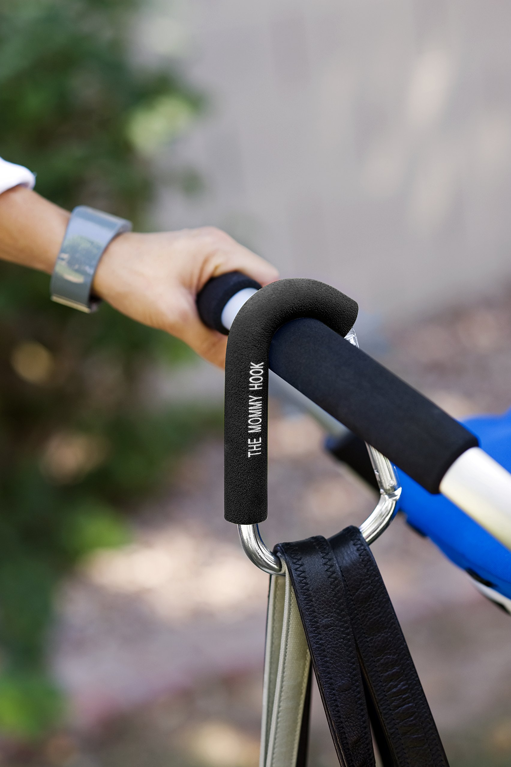 The Original Mommy Hook Stroller Accessory Black by The Mommy Hook (Image #6)