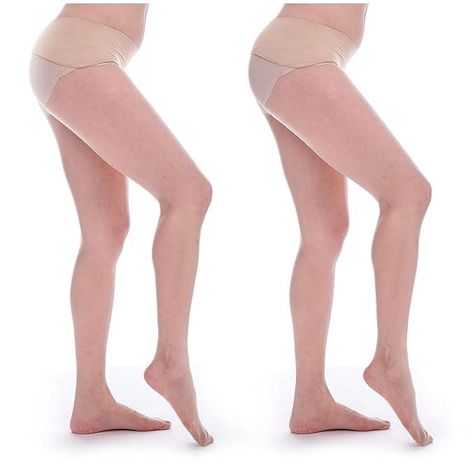 8a8c1d2cc46 ElsaYX Women s 8D Ultra Sheer Seamless Velvet Pantyhose at Amazon Women s  Clothing store