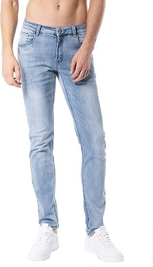 Zlz Pantalones Vaqueros Ajustados Para Hombre De Aspecto Mas Joven De Moda Coloridos Comodos Elasticos Ajustados Amazon Com Mx Ropa Zapatos Y Accesorios