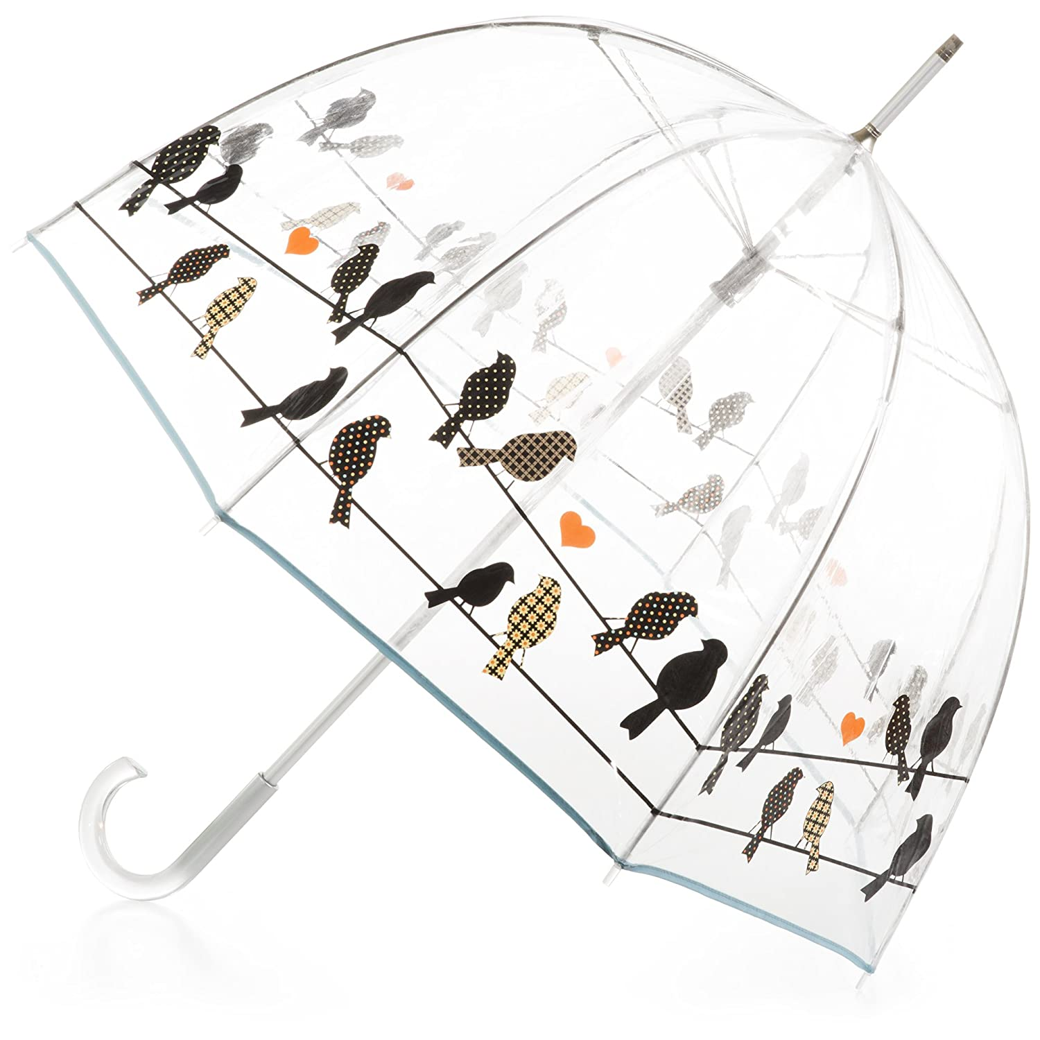 amazon com smati stick umbrella dome transparent auto open