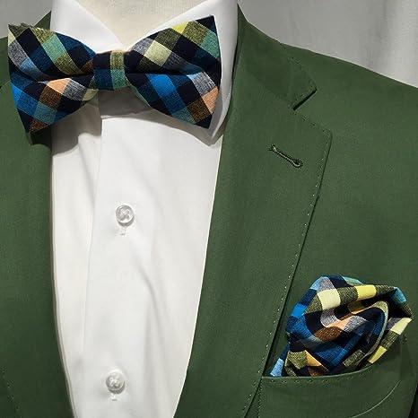 Hombre mosca lazo + - Cabeza Toalla handrolliert Juego para camisa ...