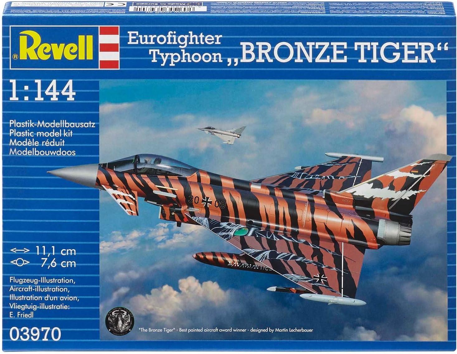 """MODEL KIT RV03970 Eurofighter /""""Bronze Tiger/"""" Revell 1:144"""