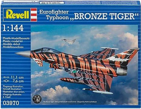 Revell- Maqueta eurofighter Typhoon, Escala 1:144 (03970): Amazon.es: Juguetes y juegos