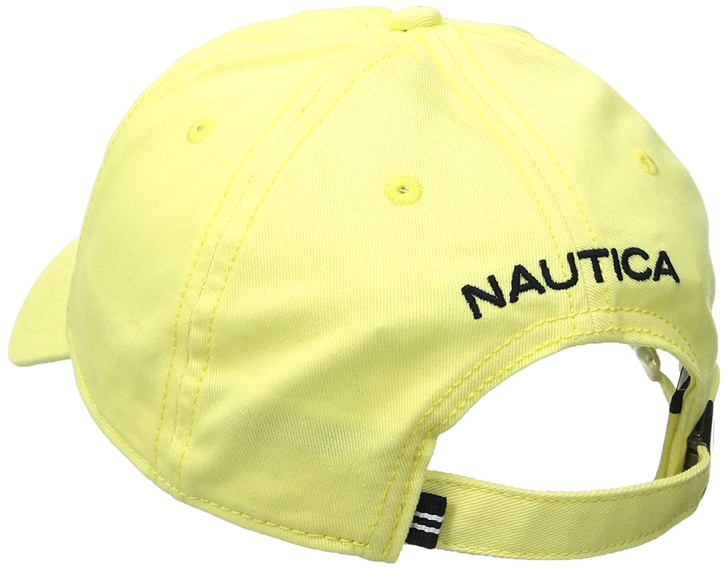 5b1cb838e42454 Nautica Men's FCA j Class 6 Panel Baseball Cap Regular Fit, Lemon Meringue,  OSZ: Amazon.co.uk: Clothing