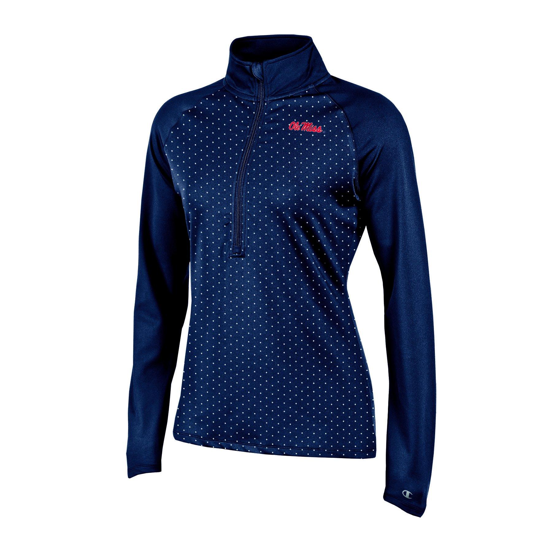 Ouray Sportswear NCAA Texas Tech Red Raiders Womens Dee-lite 1//4 Zip Top X-Large Black