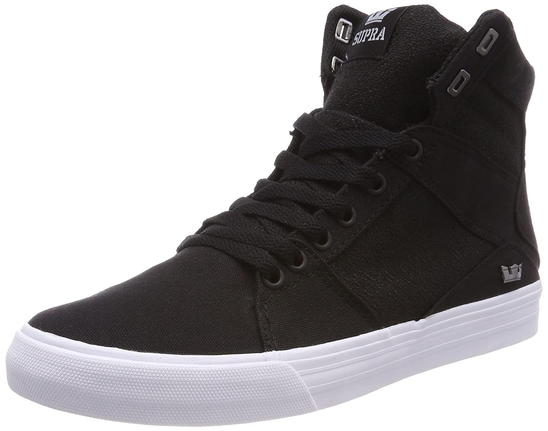 Supra Aluminum, Zapatillas para Hombre 40 EU|Negro (Black-white)