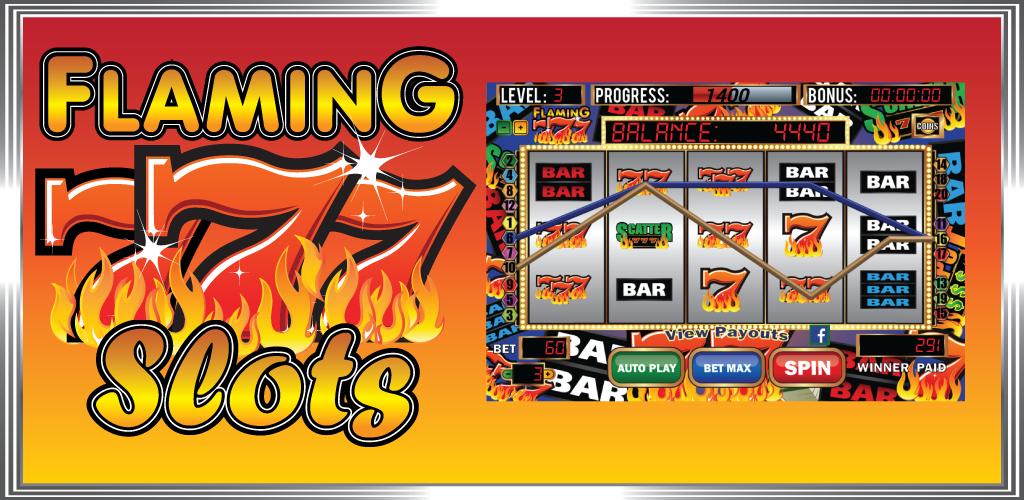 Flamin 7's slot