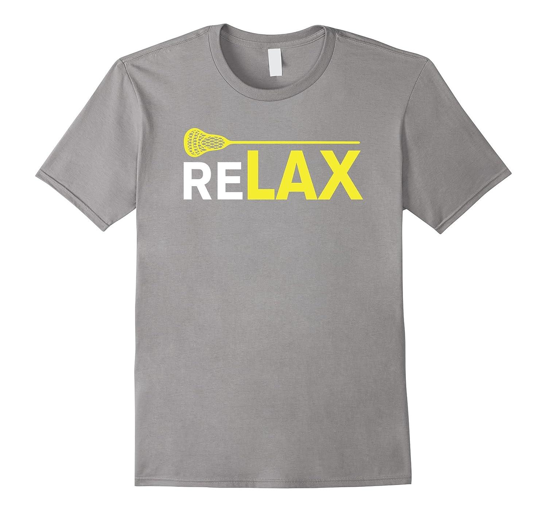 Sports Shirts - ReLAX Lacrosse Sticks T-Shirt-CL