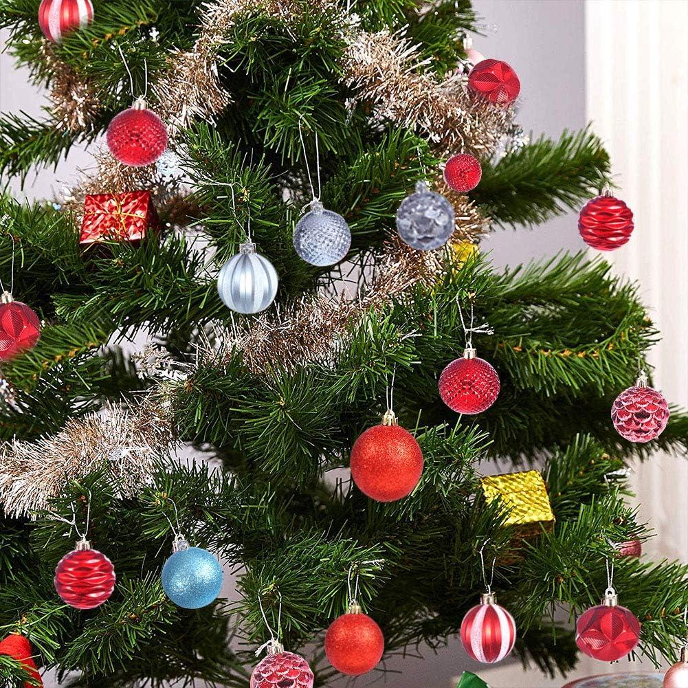 Yhomie Christmas Tree Decor Ball,Xmas Tree Decorations Hanging ...