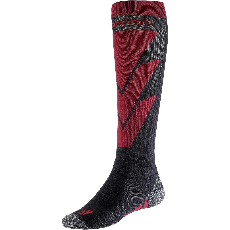 2-pack Salomon S//Access Mens Ski Socks Large Night//Black