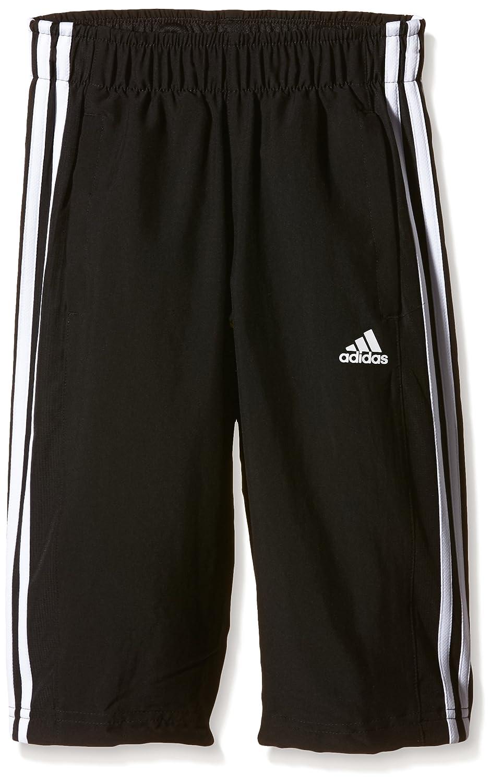 adidas Boy's Essentials 3-Stripes Three-Quarter Pants